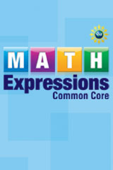 Math Expressions 6 Year Subscription eStudent Activity Book Grade 1-9780547153179