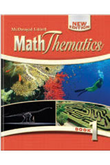 MathThematics  Online Student Edition 6-year Book 1-9780547229041