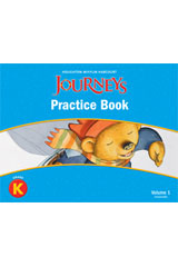 Journeys  Practice Book Consumable Volume 1 Grade K-9780547246345