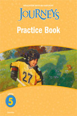 Journeys practice book consumable grade 5