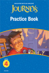 Journeys Practice Book Consumable Grade 4