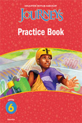 Journeys  Practice Book Consumable Grade 6-9780547246475