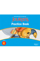 Order Journeys Practice Book Consumable Volume 2 Grade K Isbn
