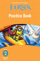 Journeys  Practice Book Consumable Volume 2 Grade 2-9780547249148