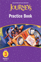 Journeys  Practice Book Consumable Volume 2 Grade 3-9780547249155