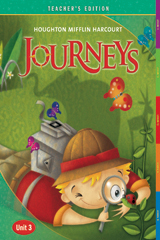 Journeys  Teacher's Edition Volume 3  Grade 1-9780547251523