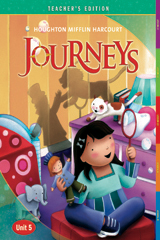 Journeys  Teacher's Edition Volume 5  Grade 1-9780547251592