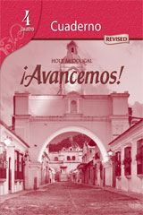 ¡Avancemos!  Cuaderno Student Edition Level 4-9780547255439