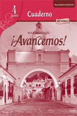 ¡Avancemos!  Cuaderno Teacher's Edition Level 4-9780547255446