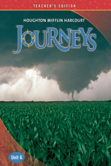 Journeys  Teacher's Edition Volume 6  Grade 6-9780547255668