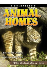 Steck-Vaughn BOLDPRINT Anthologies  Leveled Reader 6pk Yellow Animal Homes-9780547261515