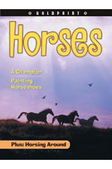 Steck-Vaughn BOLDPRINT Anthologies  Leveled Reader 6pk Yellow Horses-9780547261560
