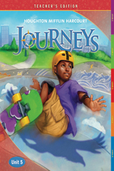 Journeys  Teacher's Edition Volume 5  Grade 6-9780547265186