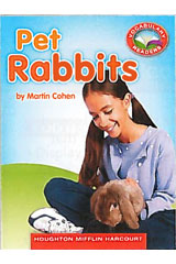 Journeys Leveled Readers Texas Individual Titles Set (6 copies each) Level I Pet Rabbits-9780547267159