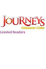 Journeys Leveled Readers  Individual Titles Set (6 copies each) Level N School in a Garden-9780547267609