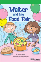 Journeys Leveled Readers  Individual Titles Set (6 copies each) Level O Walter and the Food Fair-9780547268033