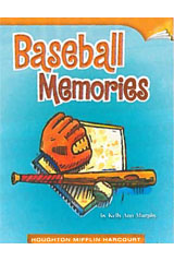 Journeys Leveled Readers  Individual Titles Set (6 copies each) Level S Baseball Memories-9780547268088