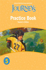 Journeys  Practice Book Teacher Annotated Edition Grade 5-9780547271958
