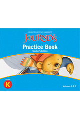 Journeys  Practice Book Teacher Annotated Edition Grade K-9780547272061