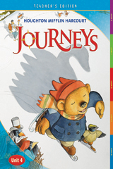 Journeys  Teacher Edition Volume 4  Grade K-9780547312200