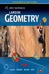 Holt McDougal Larson Geometry  Teacher's Edition-9780547315348