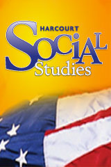 Harcourt Social Studies  Reader Above-Level Level 5 United States-9780547318196