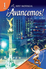 ¡Avancemos! 1 Year Subscription eEdition Online with Cuaderno Level 1-9780547318592