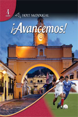 ¡Avancemos! 1 Year Subscription eEdition Online with Cuaderno Level 4-9780547318639