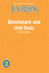 Journeys  Benchmark and Unit Tests Teacher's Edition Grade 2-9780547318745