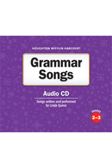 Journeys  Grammar Songs Audio CD Grades 2-3-9780547336862