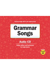Journeys  Grammar Songs Audio CD Grades 4-6-9780547336886