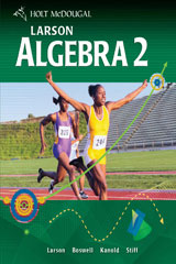 Holt McDougal Larson Algebra 2  Chapter Resource Book, Volume 1-9780547352909