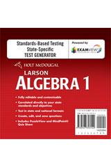 holt mcdougal algebra 1 2011 test