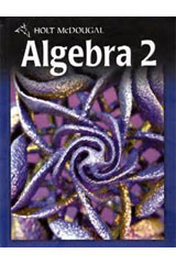 Holt McDougal Algebra 2  Chapter Resources, Volume 1 Chapters 1-7-9780547353227