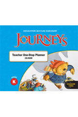 Journeys  Teacher One Stop Planner CD-ROM Grade K-9780547361185