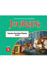 Journeys  Teacher One Stop Planner CD-ROM Grade 1-9780547361192