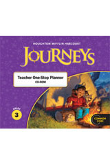 Journeys  Teacher One Stop Planner CD-ROM Grade 3-9780547361215