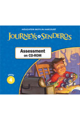 Journeys  Examview CD-ROM Grade 4-9780547361512
