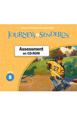 Journeys  Examview CD-ROM Grade 5-9780547361536