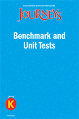 Journeys  Benchmark and Unit Tests Consumable Grade K-9780547368832