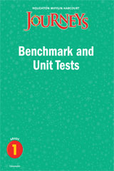 Journeys  Benchmark and Unit Tests Consumable Grade 1-9780547368849
