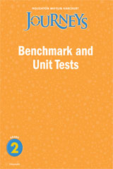 Journeys  Benchmark and Unit Tests Consumable Grade 2-9780547368856