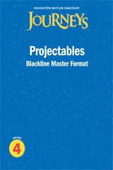 Journeys  Projectable Blackline Masters Grade 4-9780547373584