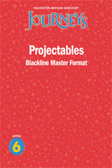 Journeys  Projectable Blackline Masters Grade 6-9780547373669