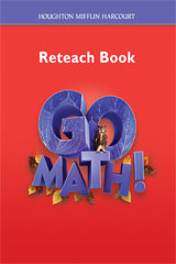 Go Math!  Reteach Workbook Student Edition, Grade 6-9780547391823