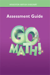 Go Math!  Assessment Guide Grade 3-9780547391953