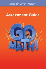 Go Math!  Assessment Guide Grade 2-9780547391977