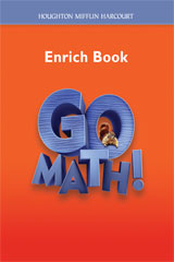 Go Math!  Enrich Workbook Student Edition, Grade 2-9780547392110