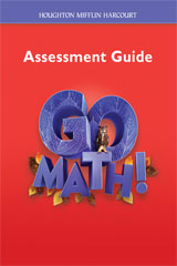 Go Math!  Assessment Guide Grade 6-9780547392134