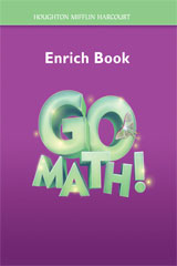 Go Math!  Enrich Workbook Student Edition, Grade 3-9780547392141